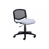 Pack of 4 Sevron Mesh Back Swivel Chairs