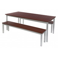 Enviro Outdoor Furniture Bundle Deal With 2 Benches