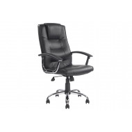 Skye High Back Black Leather Faced Executive Chair