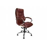 Kintyre Tan Leather Faced Executive Chair