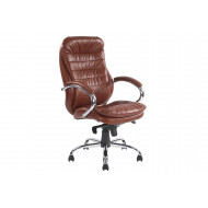 Nairn Tan Leather Faced Executive Chair