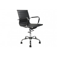 Andruzzi Leather Faced Chair
