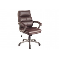Next-Day Telford burgundy executive chair