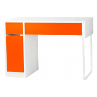 Spector Home Office Orange Workstation