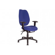 24 Hour High Back Ergonomic Operator Chair