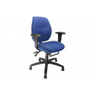24 Hour Medium Back Ergonomic Operator Chair