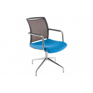 Vie Mesh Back Armchair With Star Base