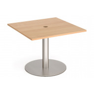 Gerber Power Ready Square Meeting Table
