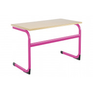 Euro Double Classroom Table 6-8 Years