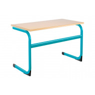 Euro Large Double Classroom Table 11-14 Years