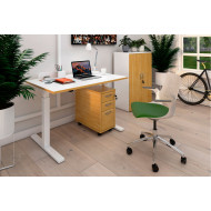 Strive Sit & Stand Rectangular Home Office Desk