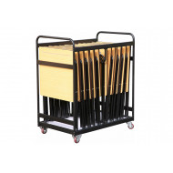 Folding Exam Desk Trolley (For 25 Exam Desks)