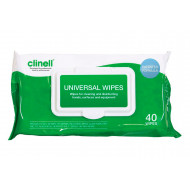 Clinell Universal Wipes (40 Wipes) NHS Approved - NHS Code VJT119