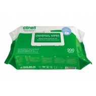 Clinell Universal Wipes (200 Wipes) NHS Approved - NHS Code VJT118