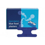 Pack Of Blue Detectable Knuckle Plasters