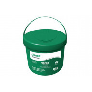 Clinell Universal Wipes Bucket (225 Wipes) NHS Approved  - NHS Code VJT190