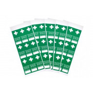 Tamperproof First Aid Inspection Labels