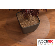 Cleartex Poly Circular Chair Mat For Low Pile Carpets & Hard Floors