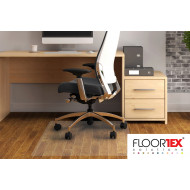 Cleartex Advantagemat PVC Square Chair Mat For Hard Floors