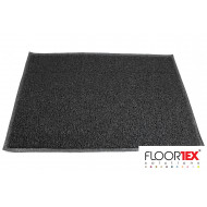 Doortex Twistermat Vinyl Outdoor Entrance Mat (Black)