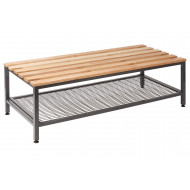 QMP Double Bench With Under Seat Tray