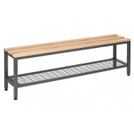 QMP Single Bench With Under Seat Tray