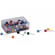 Pack Of 100 Franken Assorted Round Pushpins