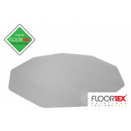 Cleartex Poly Chair Mat For Hard Floors (Clear)
