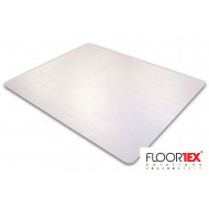 Cleartex XXL Poly Square Chair Mat For Carpets