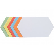 Pack Of 300 Franken Self-Adhesive Hexagon Shaped Training Cards