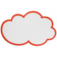 Pack Of 20 Franken Self Adhesive Cloud Shaped Training Cards