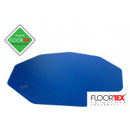Cleartex Poly Chair Mat For Hard Floors (Blue)