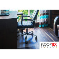 Cleartex XXL Poly Chair Mat For Hard Floors & Low Pile Carpets