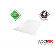 Cleartex XXL Poly Chair Mat For Hard Floors