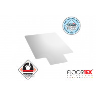 Cleartex Advantagemat PVC Lipped Chair Mat For Hard Floors