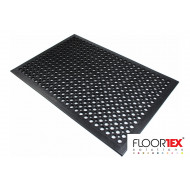 Doortex Rubber Bubble Mat With Open Top Design