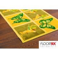 Doortex Nylon Runner Mat With Butterfly Design