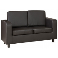 Beja 2 Seater Faux Leather Sofa