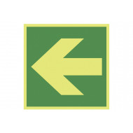 Nite-Glo Lateral Arrow Sign