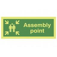 Nite-Glo Assembly Point Sign
