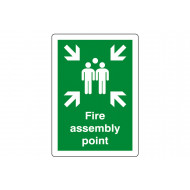 Fire Assembly Point Outdoor Sign