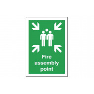 Fire Assembly Point Polycarbonate Sign