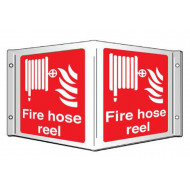 Fire Hose Reel Projecting 3D Sign