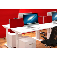 Rectangular Backdrop Screens For Vitali Sit & Stand Desks