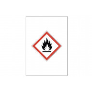 Flammable Gas GHS Sign