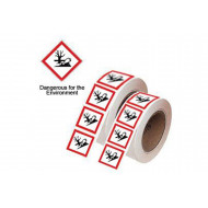 Ghs Symbols On A Tape (Dangerous For The Environment)