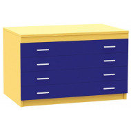 A1 Plan Chest With 4 Drawers