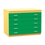 A1 Plan Chest With 5 Drawers