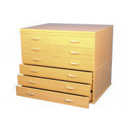 A1 Plan Chest With 6 Drawers