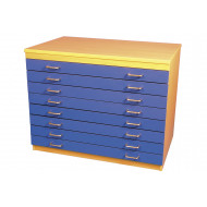 A1 Plan Chest With 8 Drawers